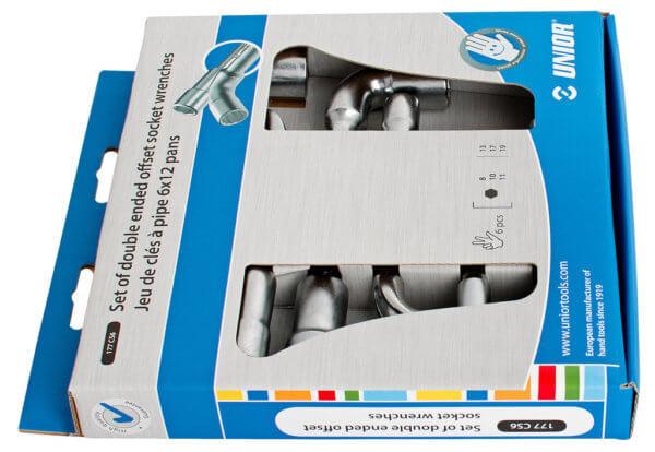 Sada uhlových kľúčov obojstranných v kartóne 177CS6 - 620583