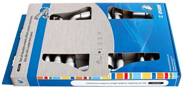 Sada uhlových kľúčov obojstranných v kartóne 176CS11 - 620582