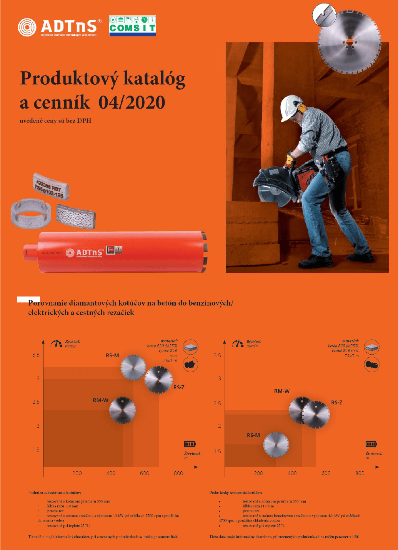ADTnS - katalóg a cenník 05 - 2020