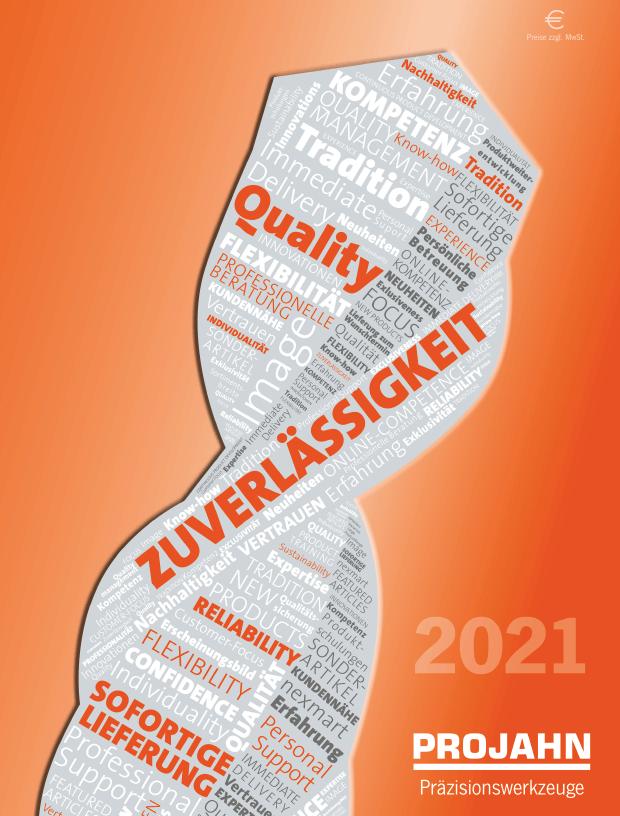 Projahn - nástroje - 2021