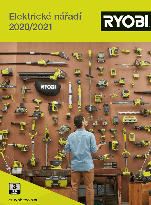 RYOBI - Elektrické náradie - 2020/2021