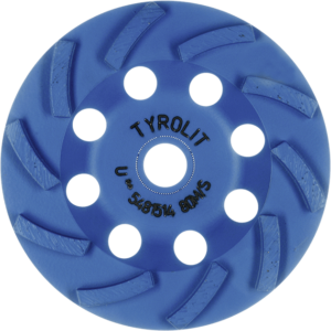 Diamantový tanier - TYROLIT STANDARD** DGU** - Turbo STS-T