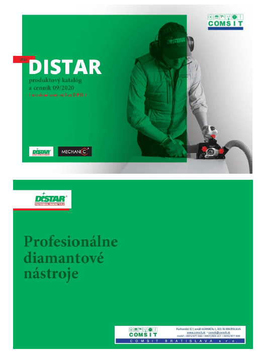 Di-Star katalóg a cenník 09-2020