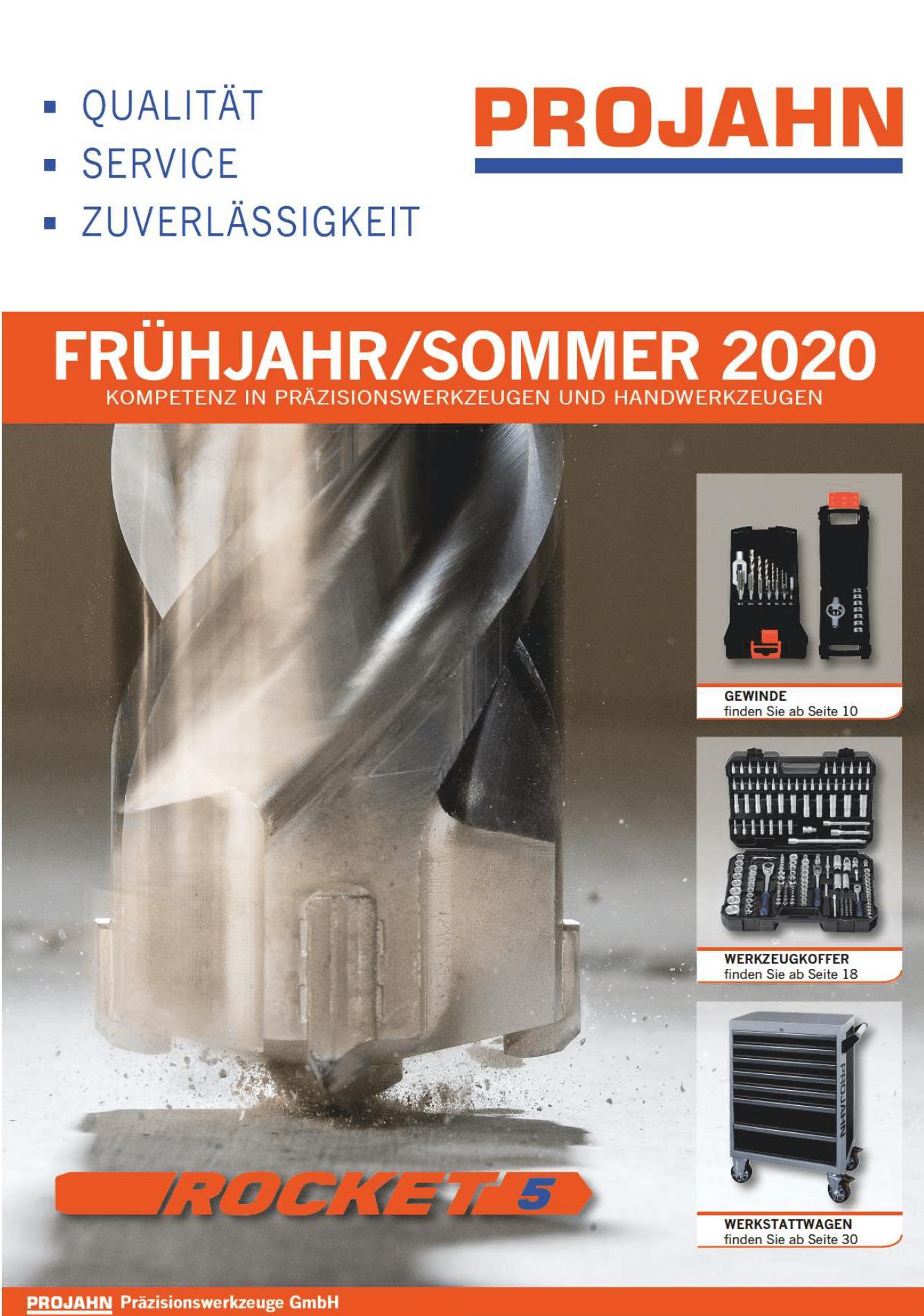 PROJAHN - jar / leto - 2020