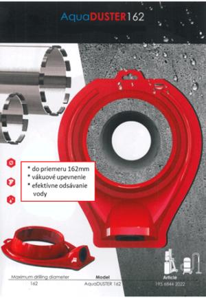 Zariadenie na odsávanie vody do 162mm - AquaDUSTER162