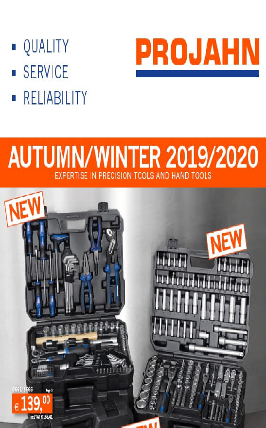 PROJAHN - jeseň / zima 2019 - 2020