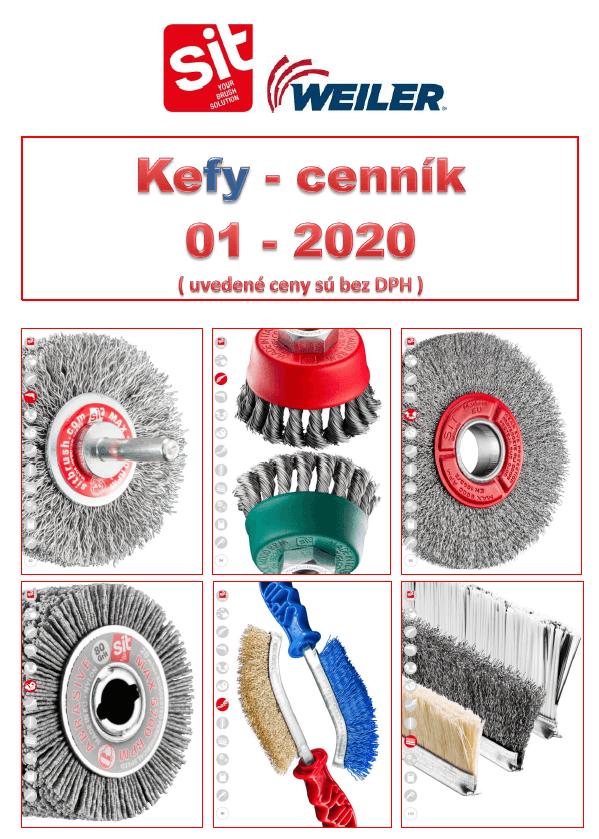 Cenník kief SIT a WEILER  01-2021