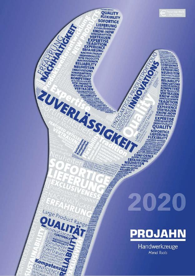 Projahn - náradie - 2020